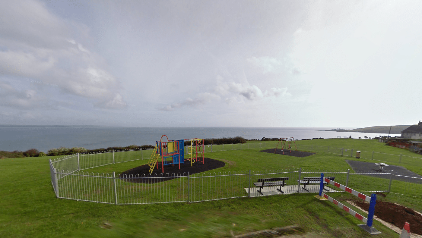 Mevagissey Cliff Playground
