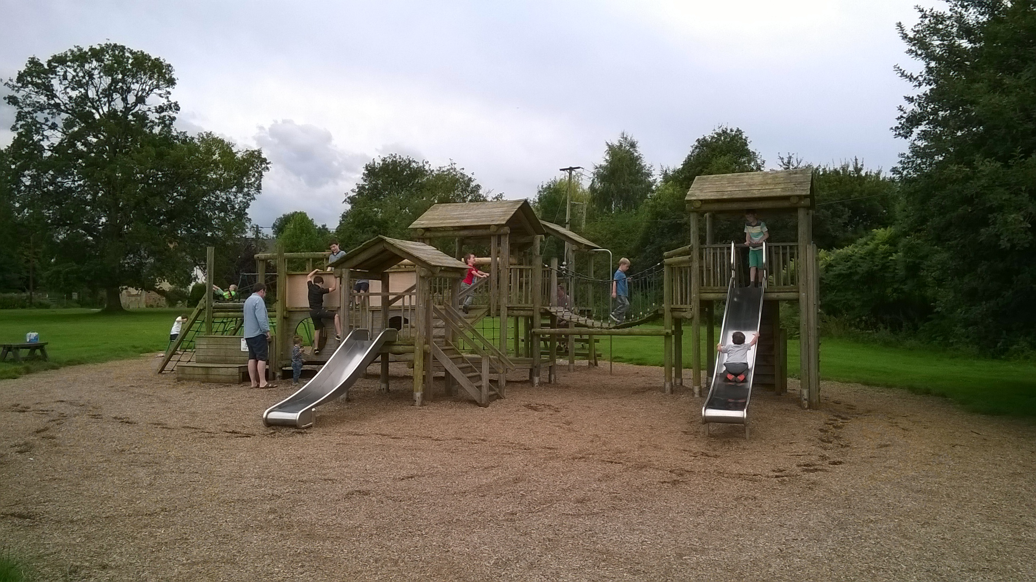 Stadhampton Recreation Ground Play Area