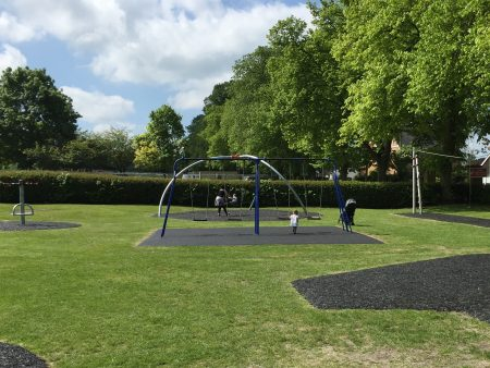 26th May 2016 - New Swings and Zip Wire installed and park refurbished