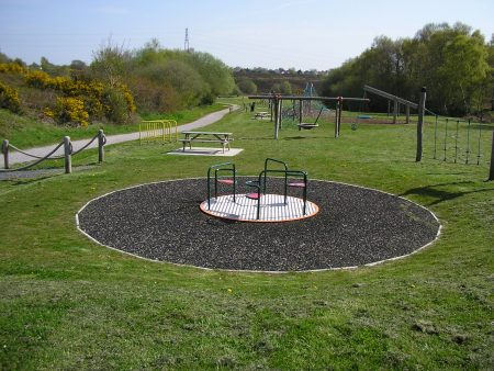 Bourne Valley Park Play Area