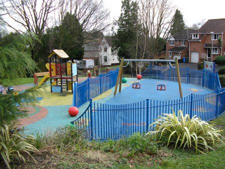 Mary Hillman Gardens Play Area