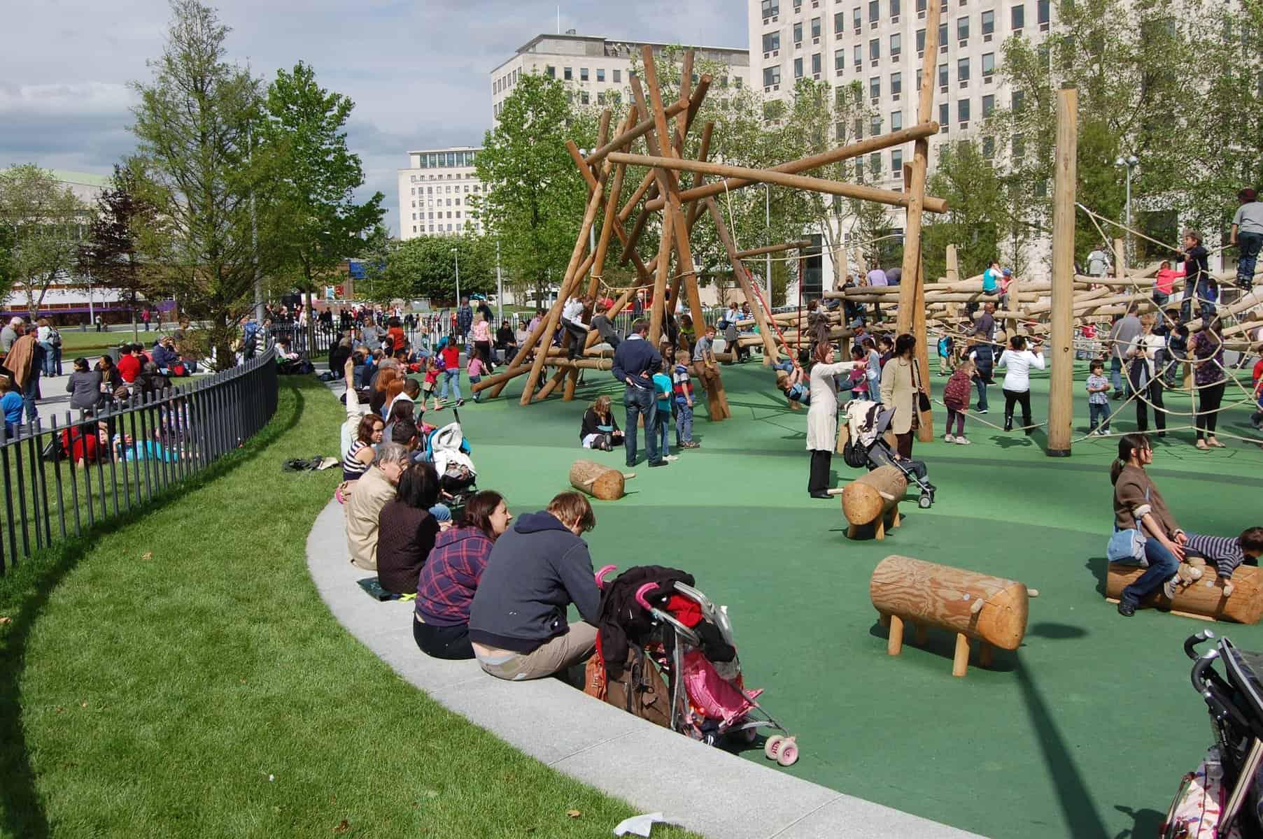 jubilee gardens london playground
