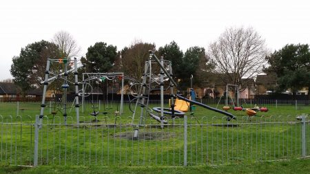 Thedwastre Play Area in Thurston, Suffolk