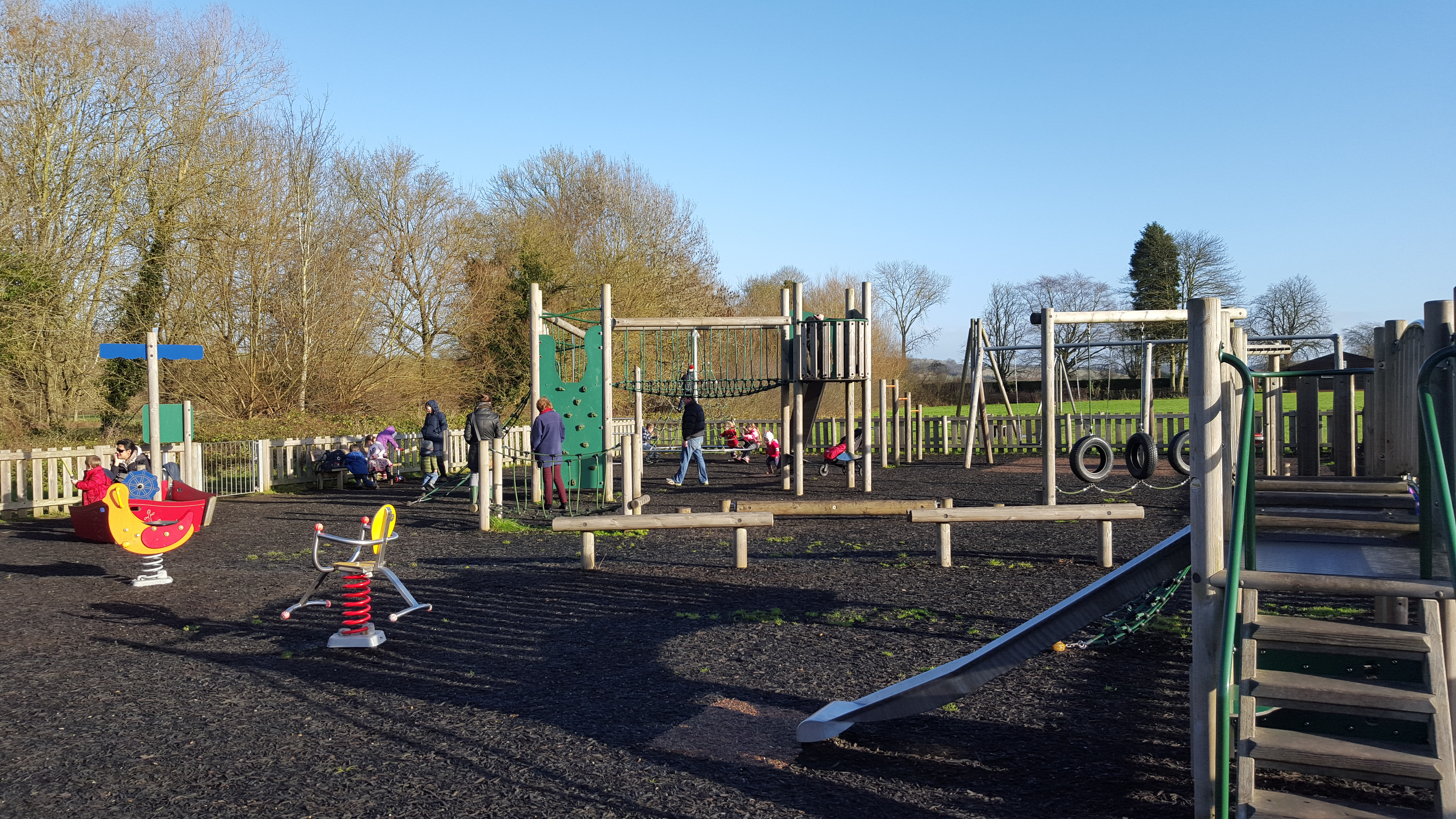 Playgrounds Play Parks And Play Areas With A Football