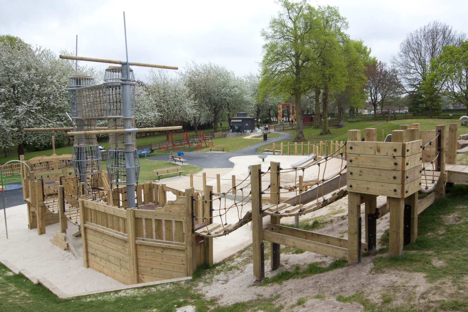 Playgrounds Play Parks And Play Areas With A Sand Pit