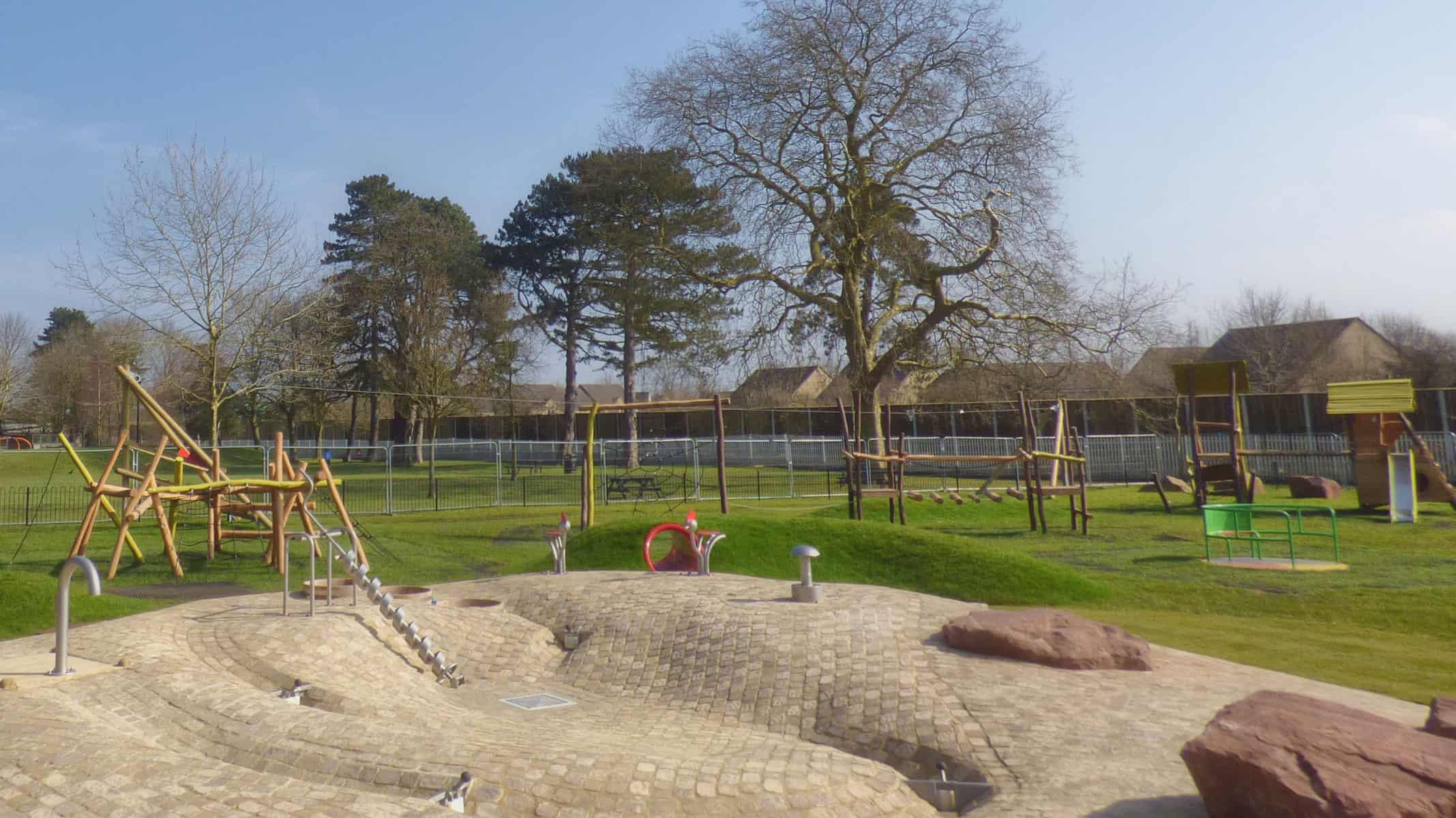 Refurbished Garth Park