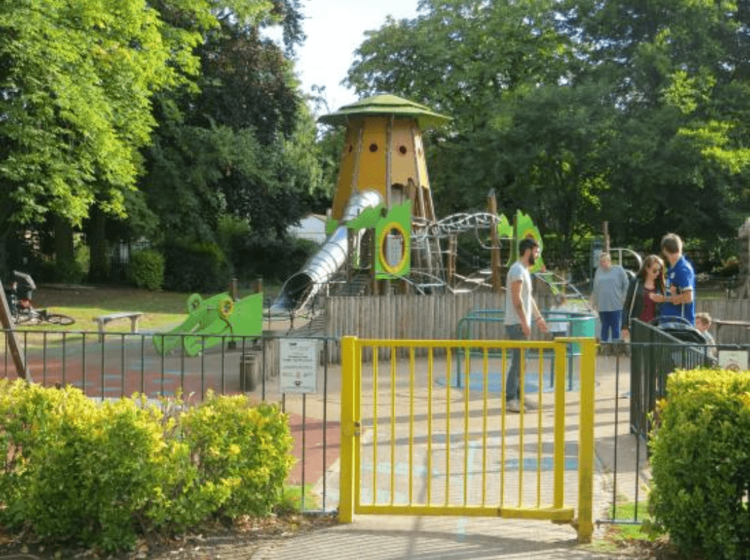 Queens park and playground