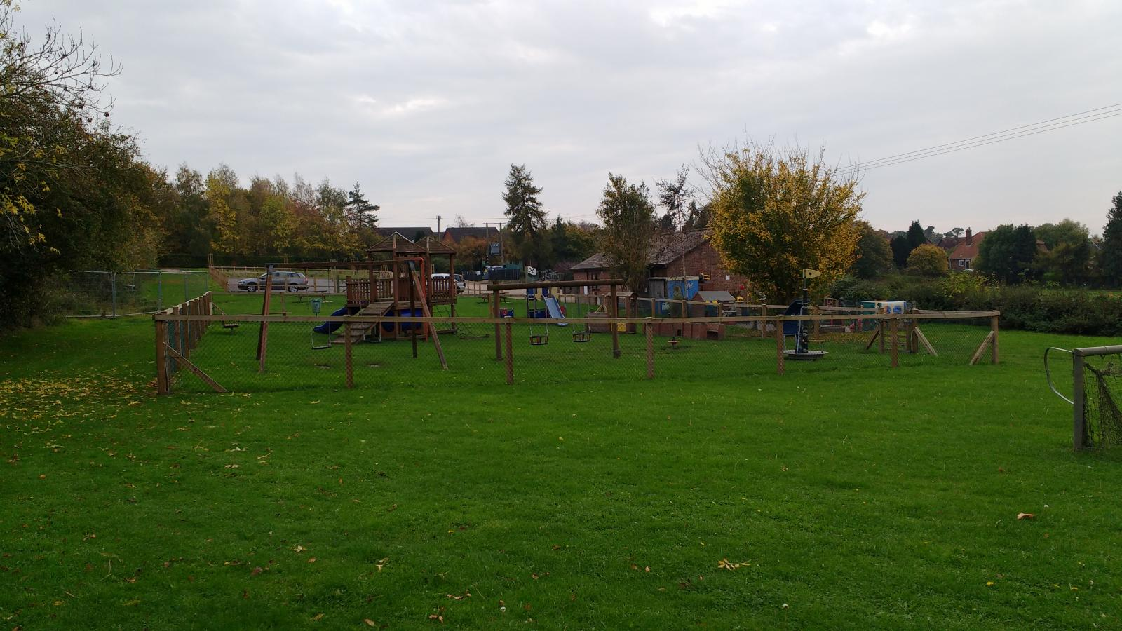 Stoke Holy Cross play area