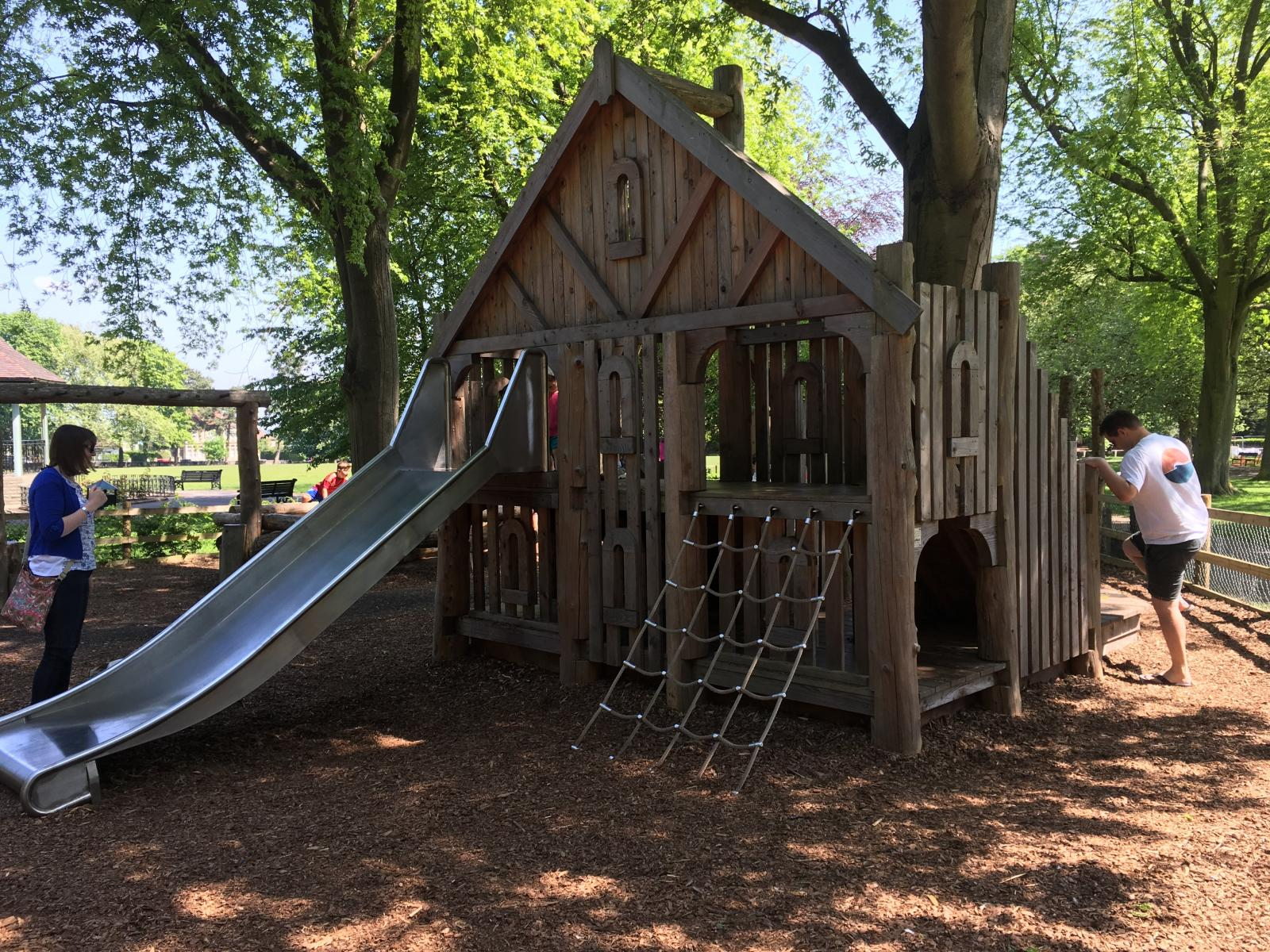 Page Park Play Area