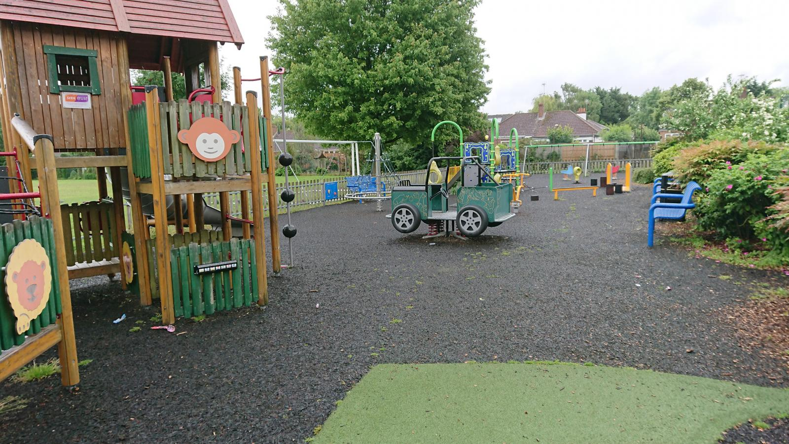 Priory street park play equipment