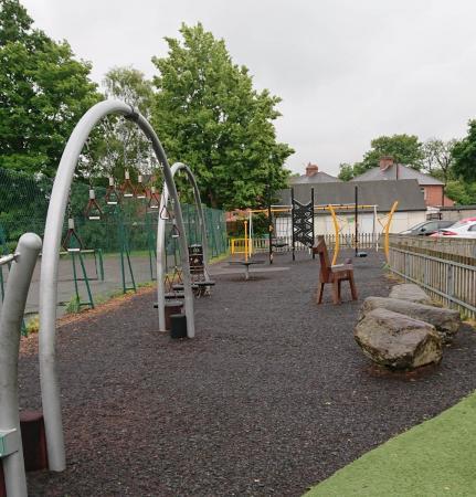 Priory street park play equipment