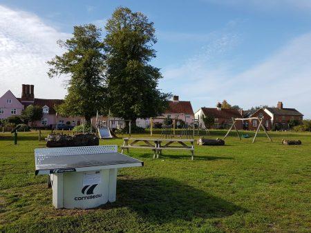 Fair Green Play Area in Diss Suffolk