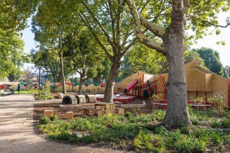 Elephant Park Play Wall