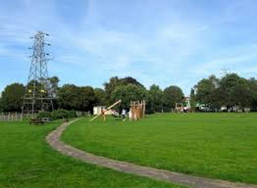 Ferring village green play area