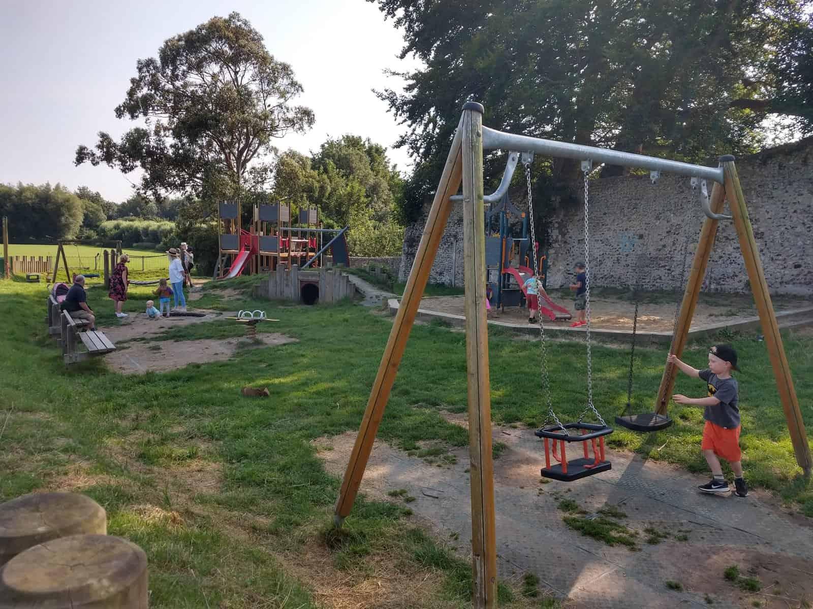 Lewes Priory Park Playground