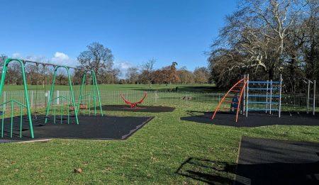 Priory Park Play Area by Paul Peeling